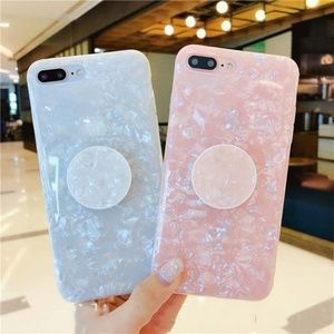 NEW iPhone 11/Pro/Max/XR/7/8/Plus Shell W/ Holder